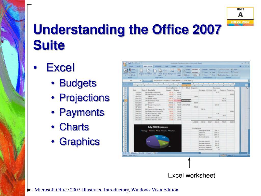 Understanding the Office 2007 Suite