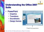 understanding the office 2007 suite8