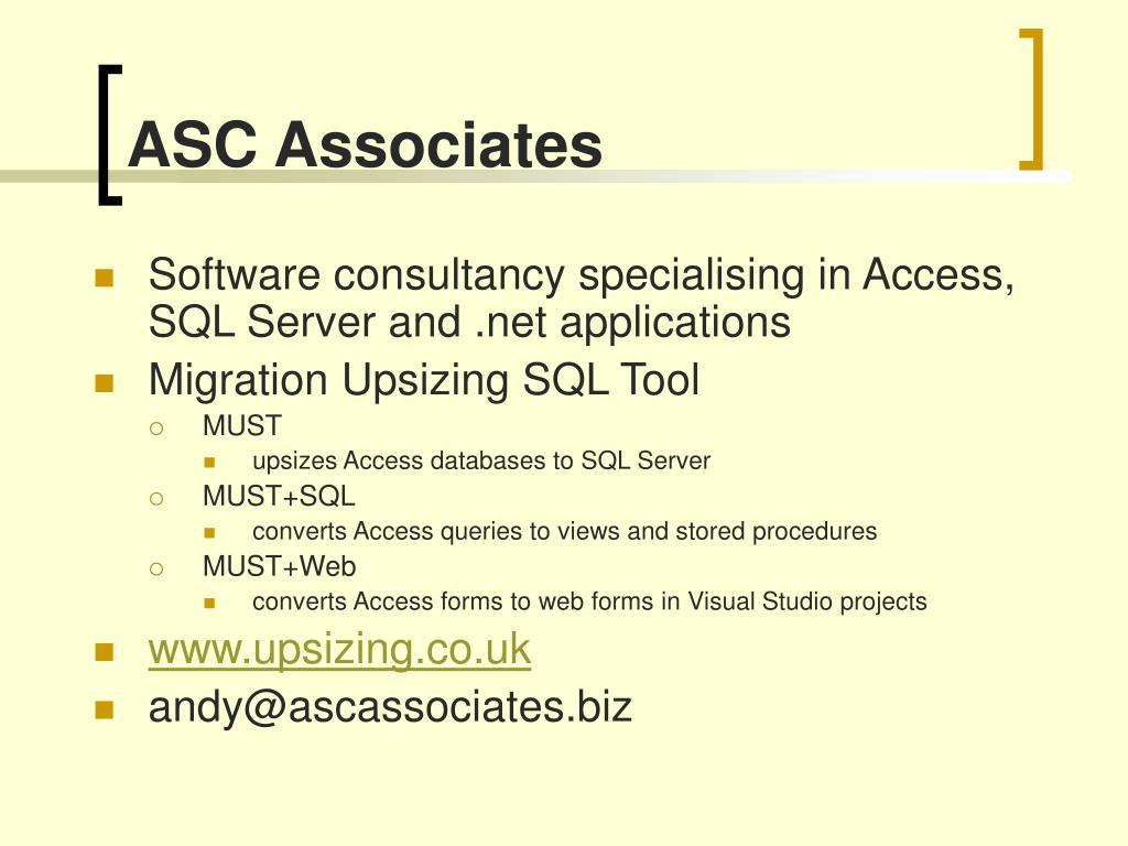 ASC Associates