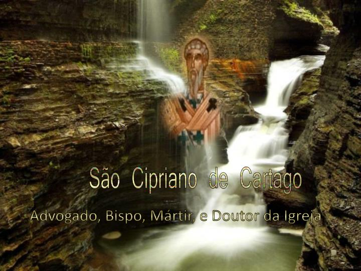 So Cipriano de Cartago