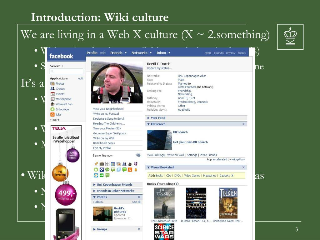 Introduction: Wiki culture