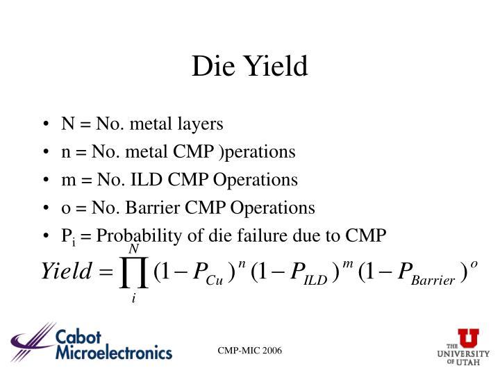 Die Yield