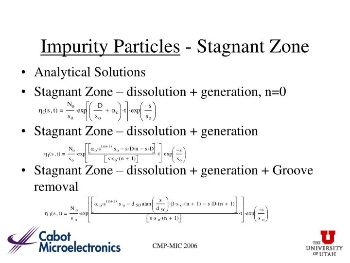 Impurity Particles