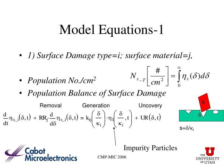 Model Equations-1