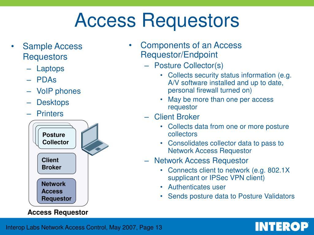Sample Access Requestors
