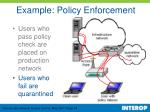 example policy enforcement18