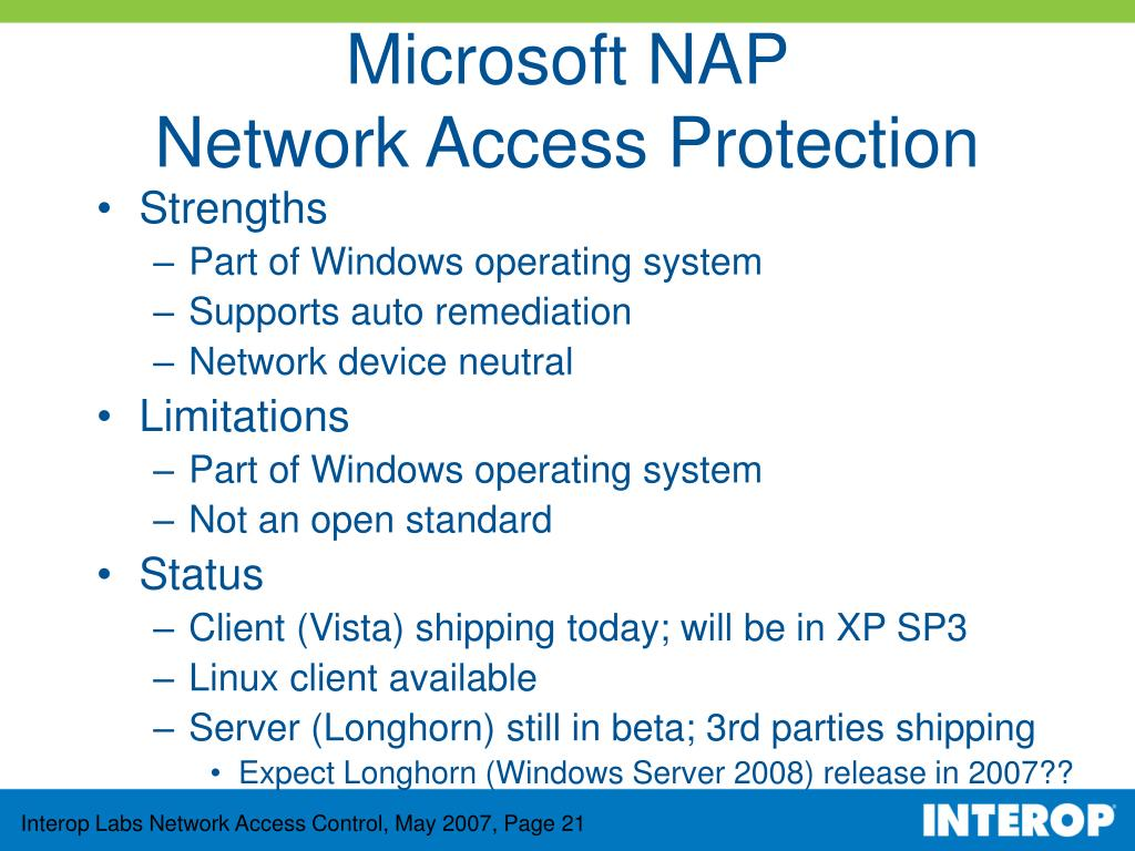 Microsoft NAP