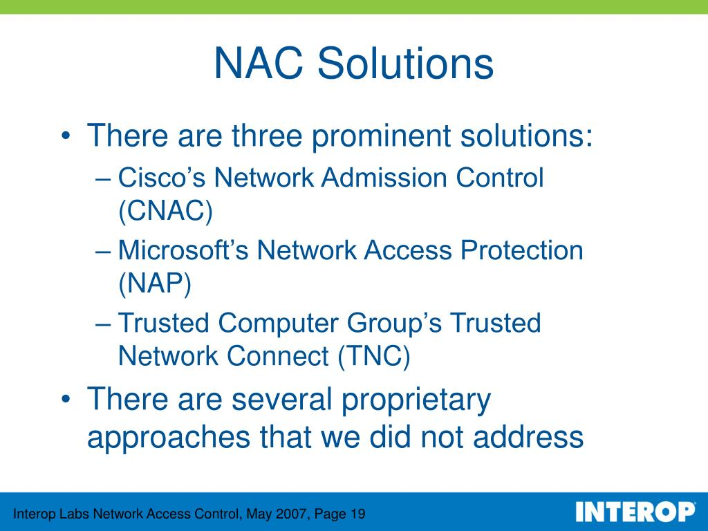 NAC Solutions