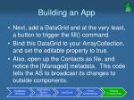 building an app29