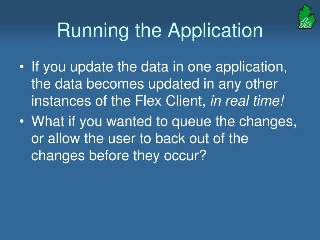 Running the Application