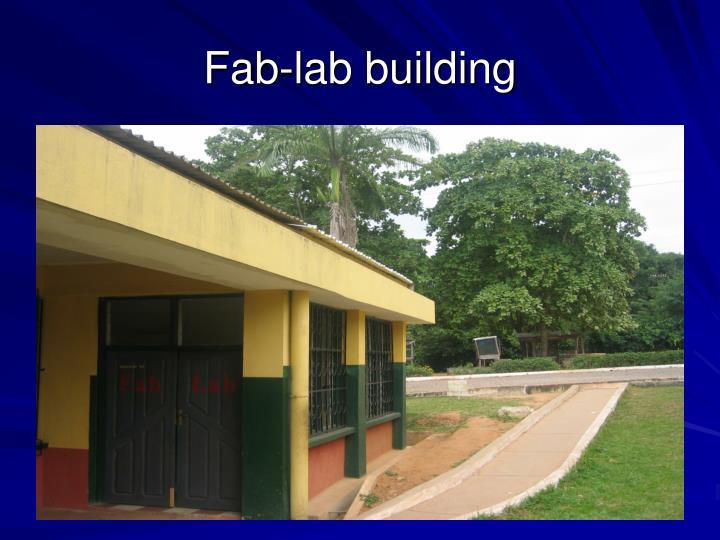 Fab-lab building