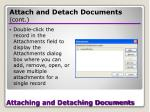 attaching and detaching documents28