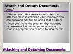 attaching and detaching documents29