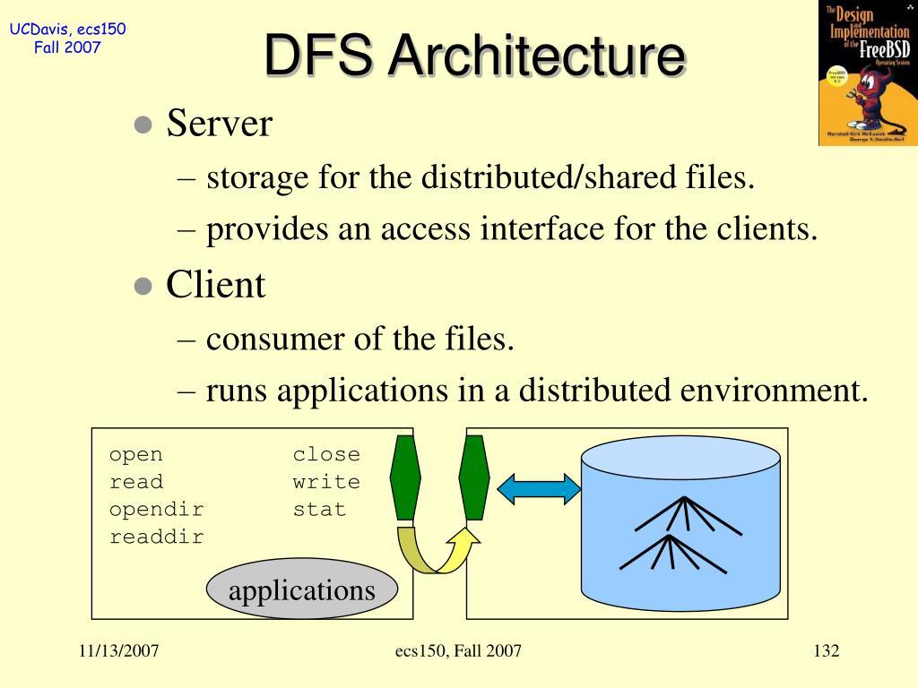DFS Architecture