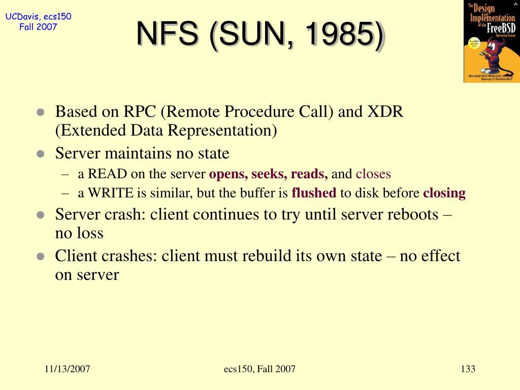 NFS (SUN, 1985)