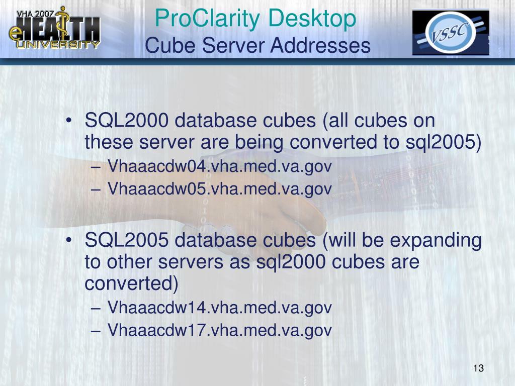 ProClarity Desktop