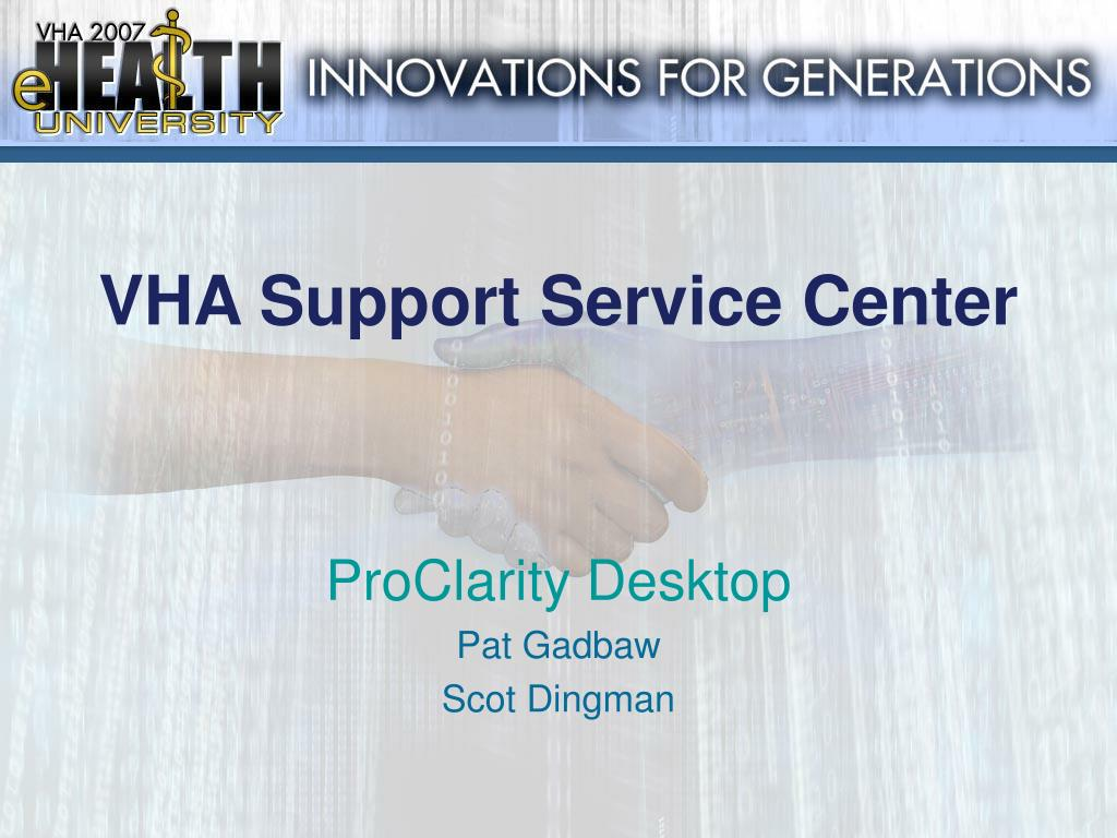 VHA Support Service Center