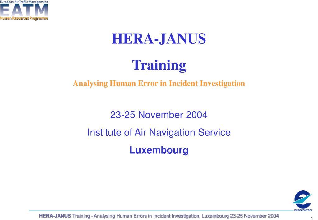 HERA-JANUS