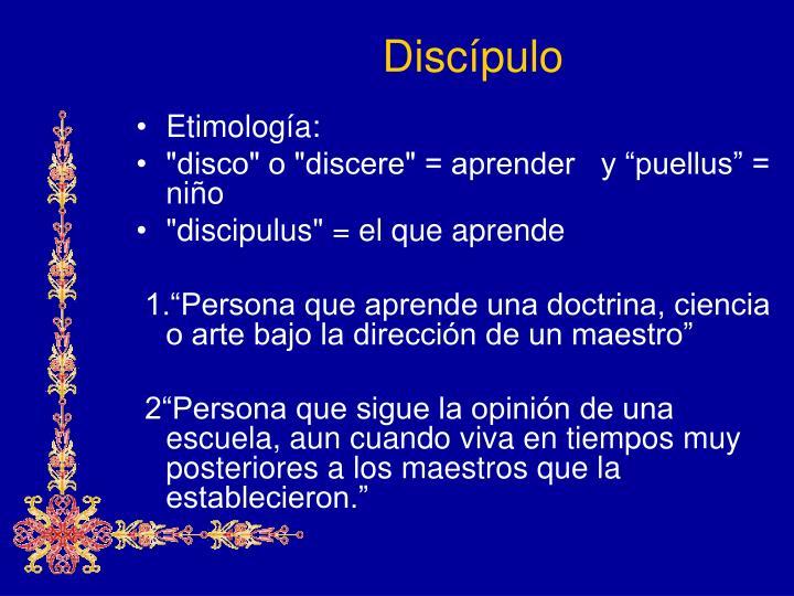 Discípulo
