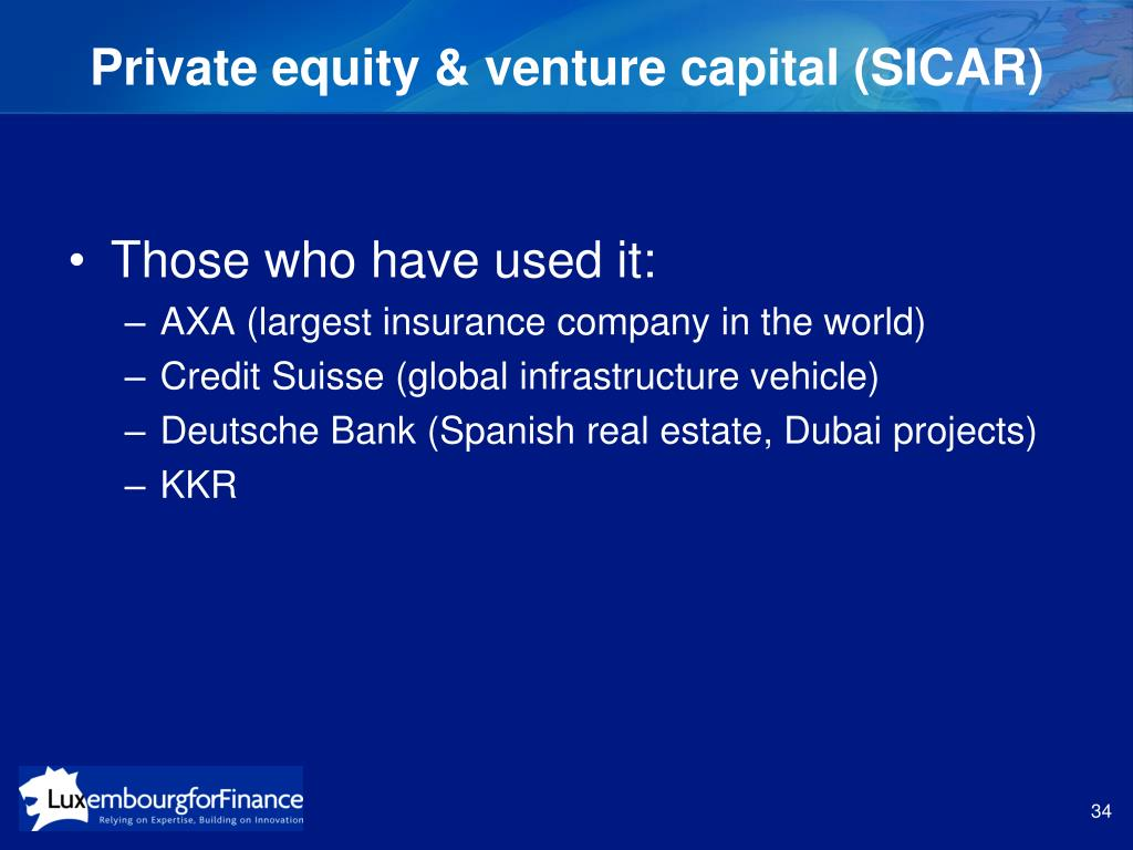 Private equity & venture capital (SICAR)