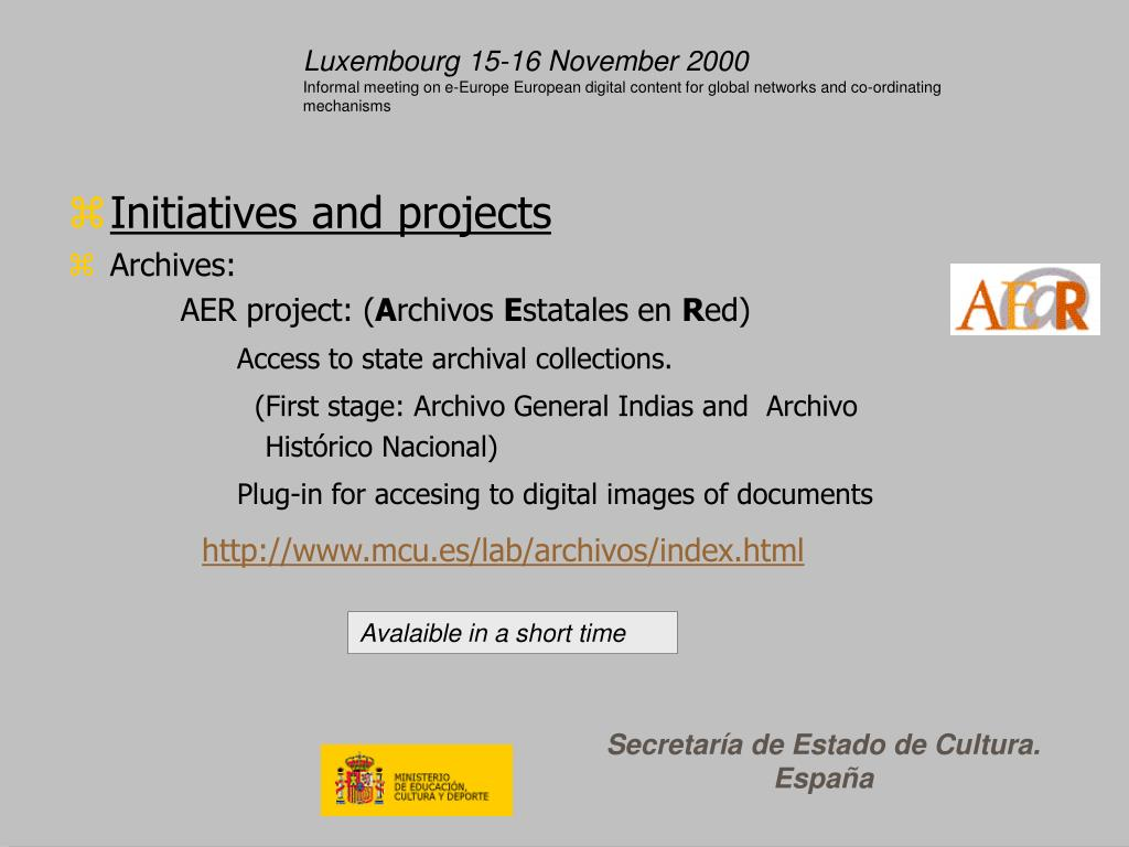 Luxembourg 15-16 November 2000