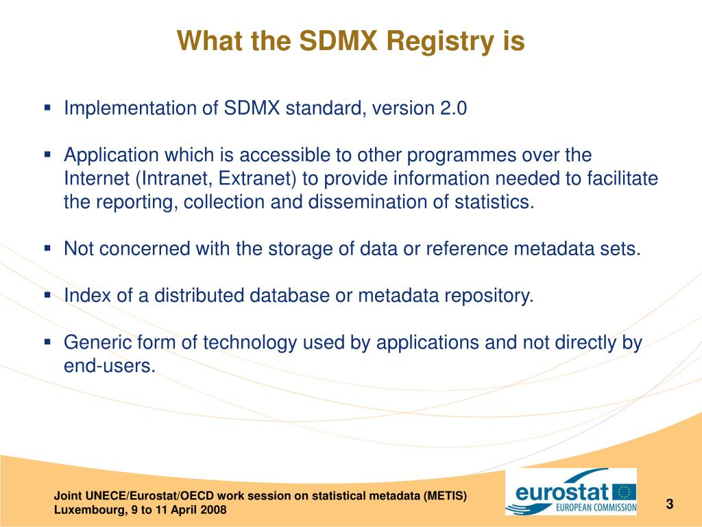What the SDMX Registry is