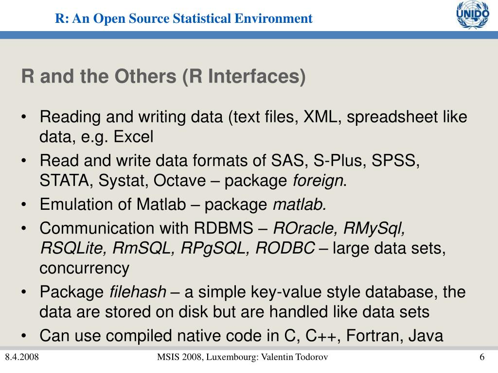 R and the Others (R Interfaces)