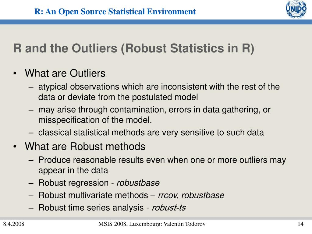 R and the Outliers (Robust Statistics in R)