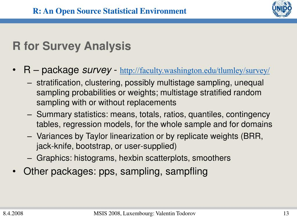 R for Survey Analysis