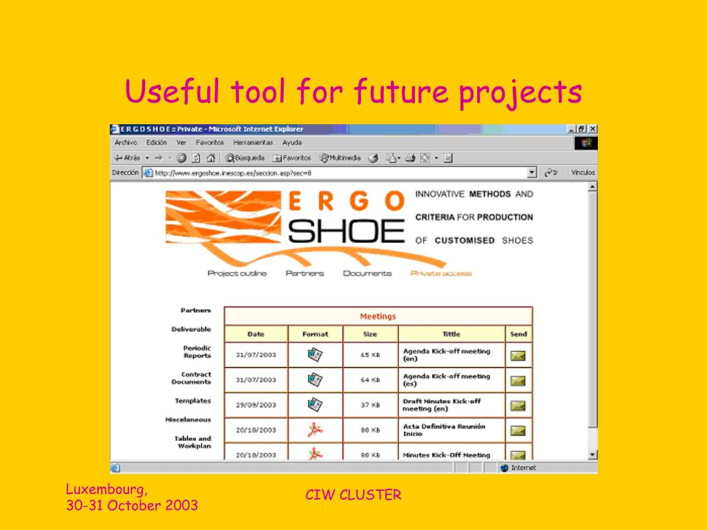 Useful tool for future projects