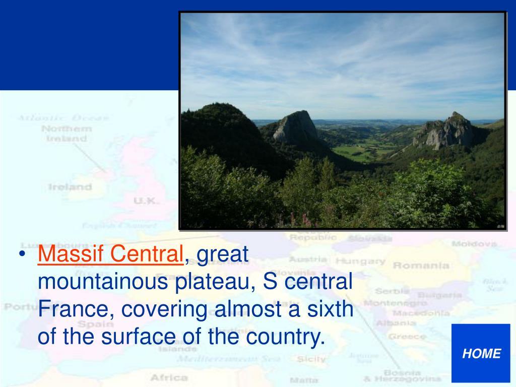 Massif Central