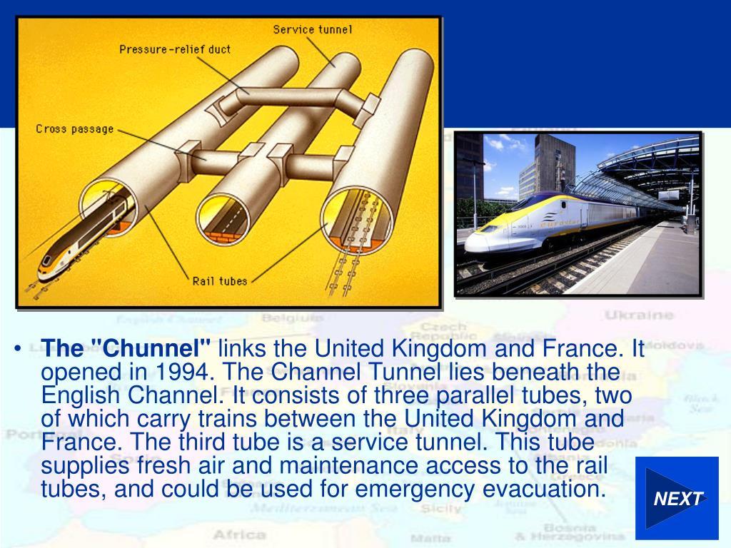 """The """"Chunnel"""""""