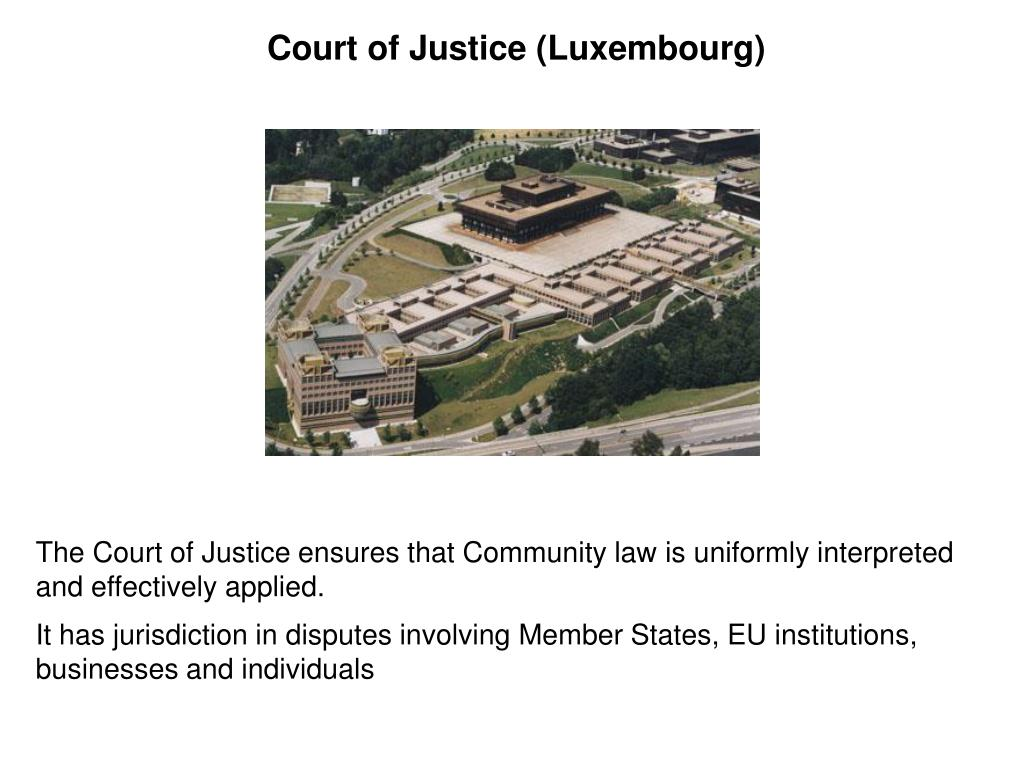 Court of Justice (Luxembourg)