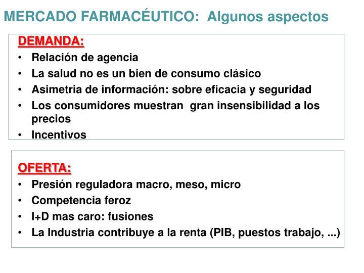 MERCADO FARMACÉUTICO: