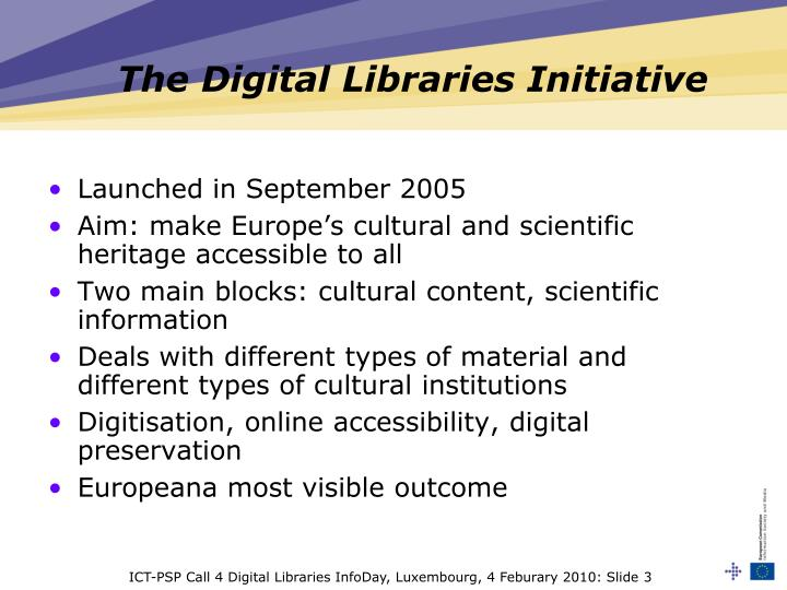 The digital libraries initiative