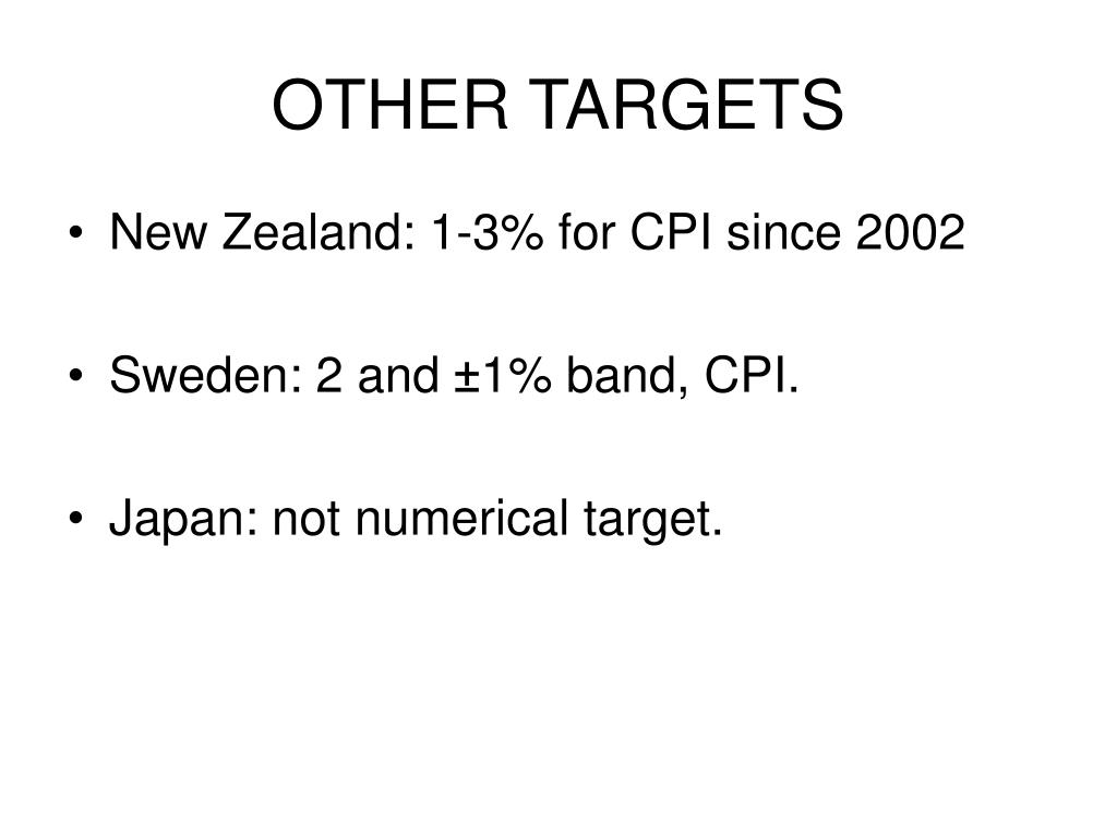 OTHER TARGETS