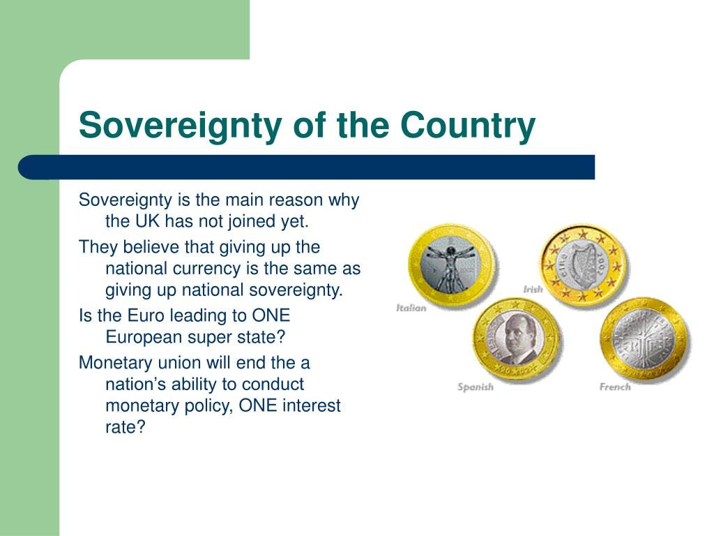 Sovereignty of the Country