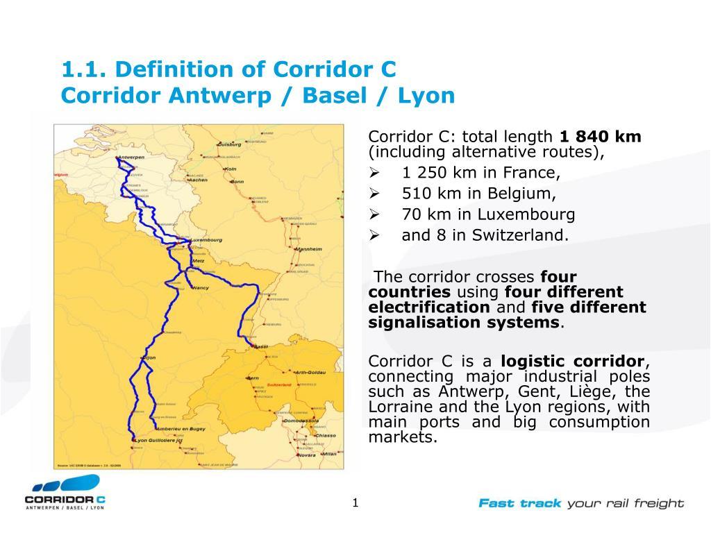 1.1. Definition of Corridor C