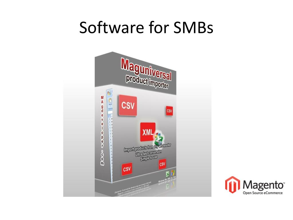 Software for SMBs
