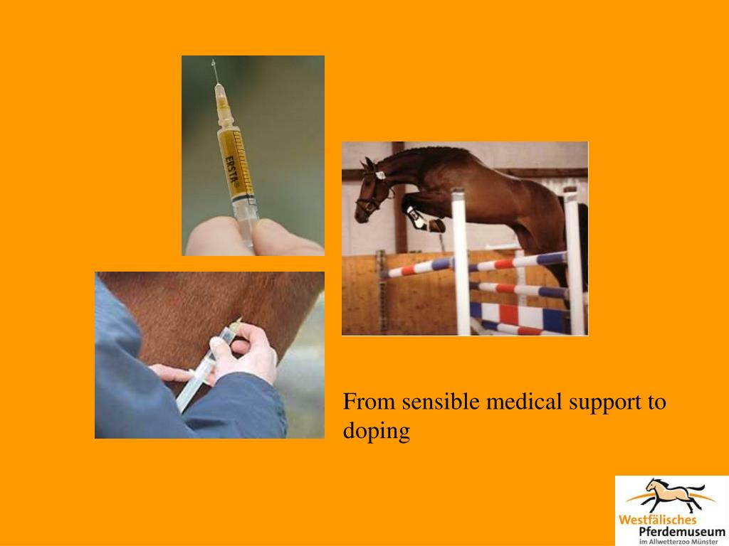 From sensible medical support to doping