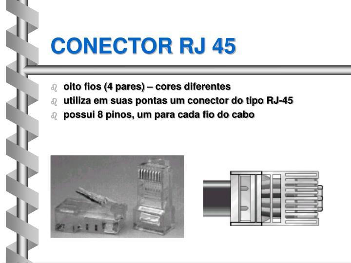 CONECTOR RJ 45