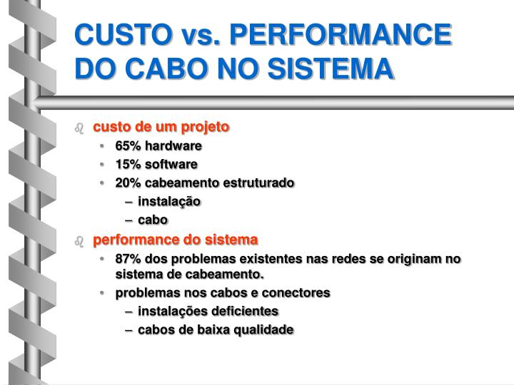CUSTO vs. PERFORMANCE
