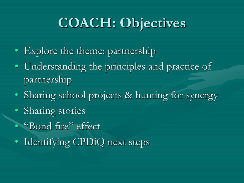 COACH: Objectives