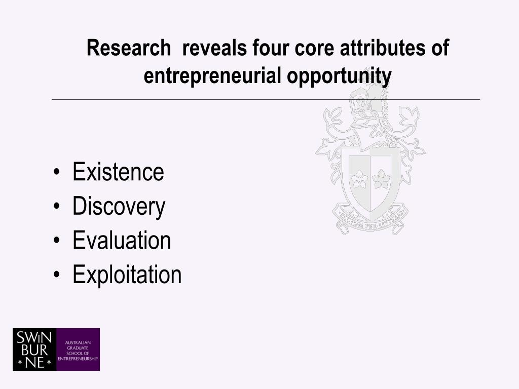 Research  reveals four core attributes of