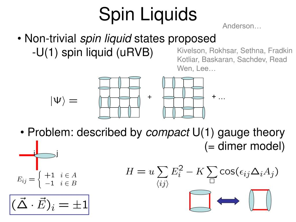 Spin Liquids