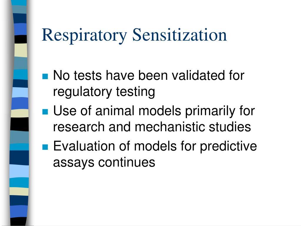 Respiratory Sensitization
