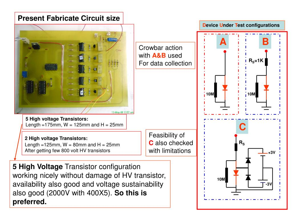 Present Fabricate Circuit size