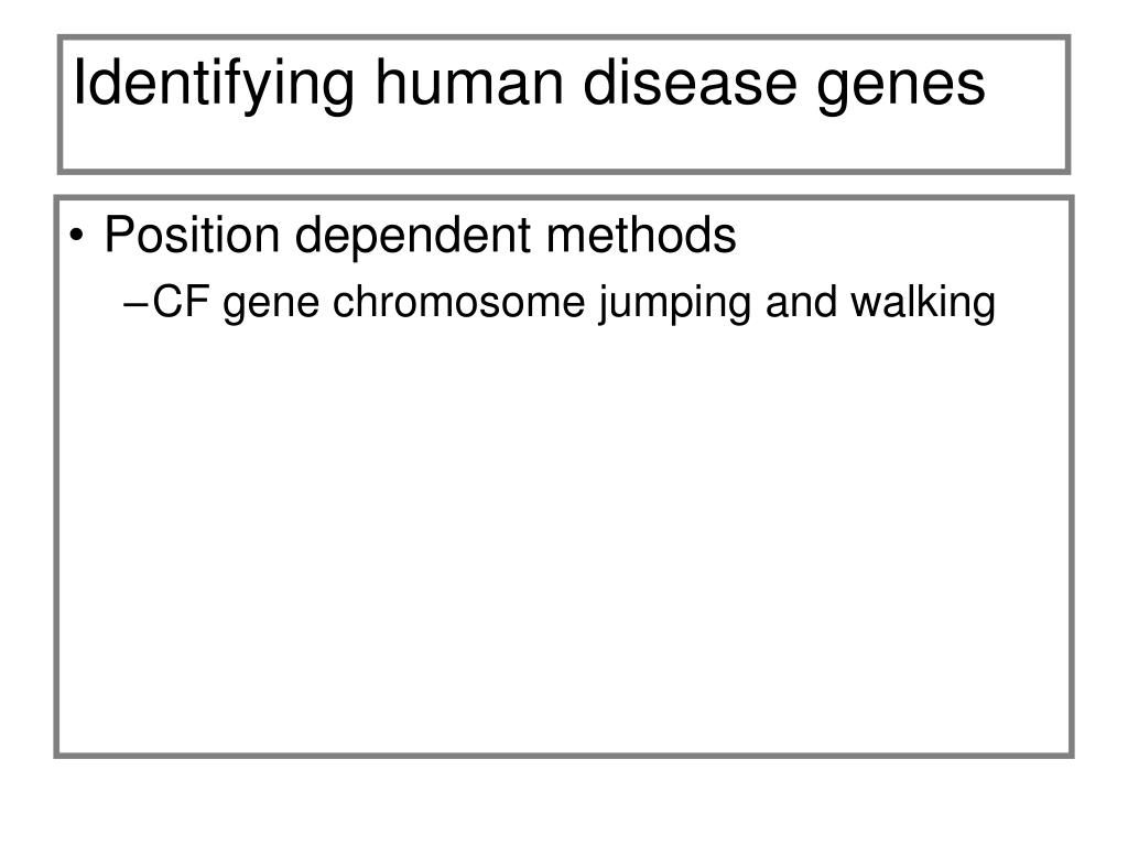 Identifying human disease genes