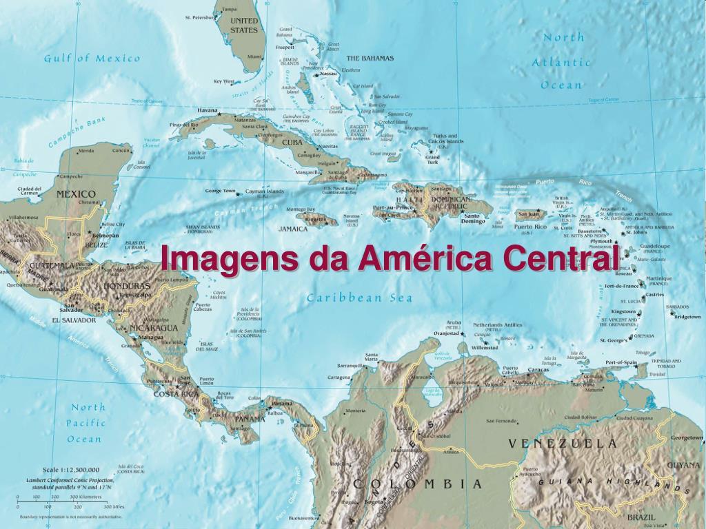 Imagens da América Central