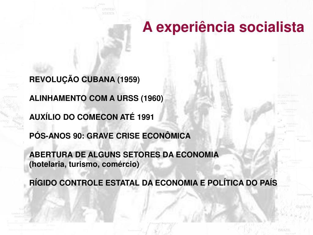 A experiência socialista